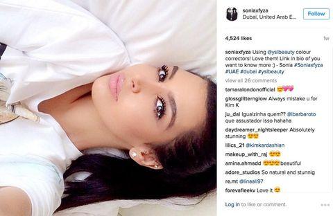 <p>Mocht Kim Kardashian nog een dubbelganger nodig hebben, dan heeft ze aan Sonia een goede.</p>