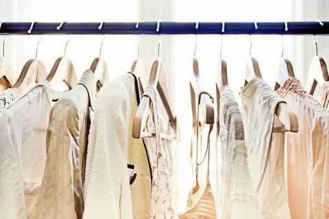 Textile, Clothes hanger, Collection, Fashion design, Boutique, Outlet store, Dry cleaning, Retail, Home accessories,