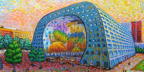 Art paint, Paint, Art, Majorelle blue, Colorfulness, Artwork, Modern art, Visual arts, Illustration, Painting,