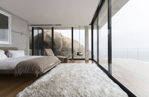 Architecture, Property, Room, Wall, Bed, Real estate, Interior design, Daylighting, Winter, Fixture,