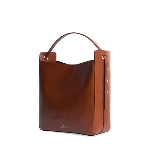 Handbag, Bag, Leather, Brown, Tan, Fashion accessory, Tote bag, Material property, Luggage and bags, Caramel color,