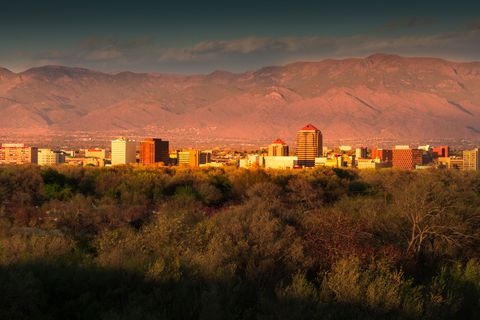 """<p>When you think about solo travel, Albuquerque probably isn't the first place to come to mind. But don't let that stop you — between close-to-downtown accommodations, easily walkable (and Uber-friendly) sight-seeing, and nightlife that actually welcomes singles, it's perfect for the woman in need of some rich history. </p><p><br></p><p>As soon as you step into the small city you'll    be engrossed in Native American culture (a rare find in the United States), whether it be through food, music, or activities. Your first stop: the <a href=""""http://www.indianpueblo.org/"""" target=""""_blank""""><u data-tracking-id=""""recirc-text-link"""" data-redactor-tag=""""u"""">Indian Pueblo Cultural Center</u></a>, where you can join a guided group tour from a staff member who actually lives within one of the still-existing pueblos to see how the Native Americans' traditions and culture have adapted to a modern lifestyle (you can even participate in <a href=""""http://www.indianpueblo.org/events/native-dances/"""" target=""""_blank""""><u data-tracking-id=""""recirc-text-link"""" data-redactor-tag=""""u"""">traditional dances</u></a> every weekend). </p><p><br></p><p>For those who want to connect with nature, go for an adventurous ride with <a href=""""http://nmjeeptours.com/"""" target=""""_blank""""><u data-tracking-id=""""recirc-text-link"""" data-redactor-tag=""""u"""">New Mexico Jeep Tours</u></a>, the only tour company in Albuquerque with access to the rugged Ball Ranch territory near San Felipe Pueblo, where you'll see wild Spanish horses roaming around the ancestral ruins. Wind down the night at <a href=""""http://www.hotelabq.com/dining-nightlife/tablao-flamenco"""" target=""""_blank""""><u data-tracking-id=""""recirc-text-link"""" data-redactor-tag=""""u"""">Tablao Flamenco</u></a>, a quaint tapas restaurant within <a href=""""http://www.hotelabq.com/"""" target=""""_blank""""><u data-tracking-id=""""recirc-text-link"""" data-redactor-tag=""""u"""">Hotel Albuquerque at Old Town</u></a>. For a mere $10, you can score tickets to watch the professionals in action, and because flamenco """
