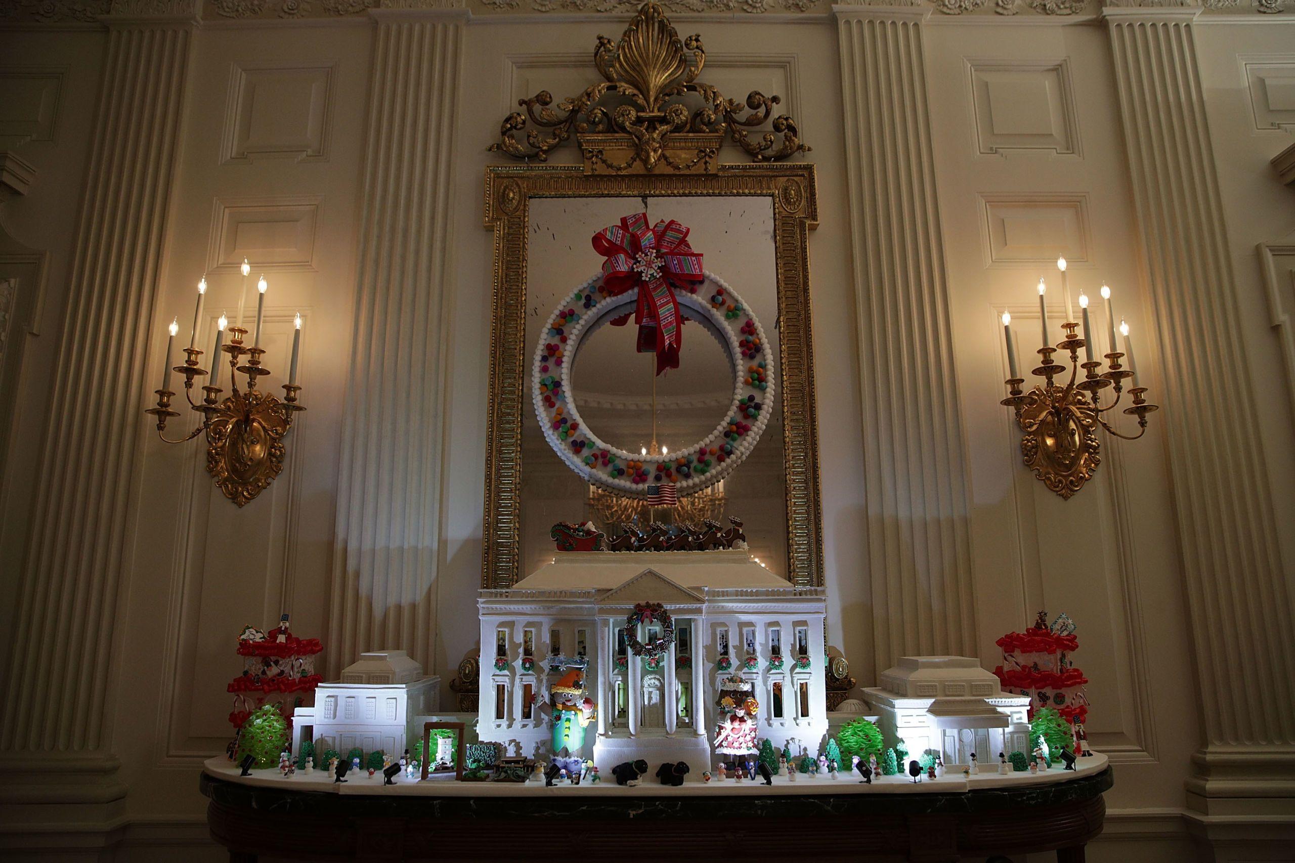 Witte Kerst Huis : Hoe de obama s de boel optuigden voor hun laatste kerst in het