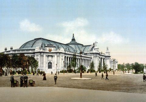 World Fair, Paris, 1900 : the 'Grand Palais'. (Photo by APIC/Getty Images)