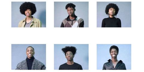 Head, Human, People, Hairstyle, Skin, Green, Sleeve, Chin, Forehead, Textile,