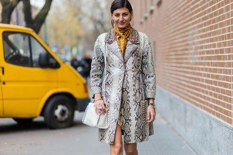 Street fashion, Clothing, Yellow, Fashion, Outerwear, Footwear, Dress, Photography, Textile, Jacket,
