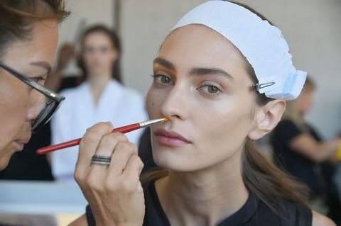 Face, Eyebrow, Lip, Nose, Skin, Head, Beauty, Chin, Makeup artist, Mouth,