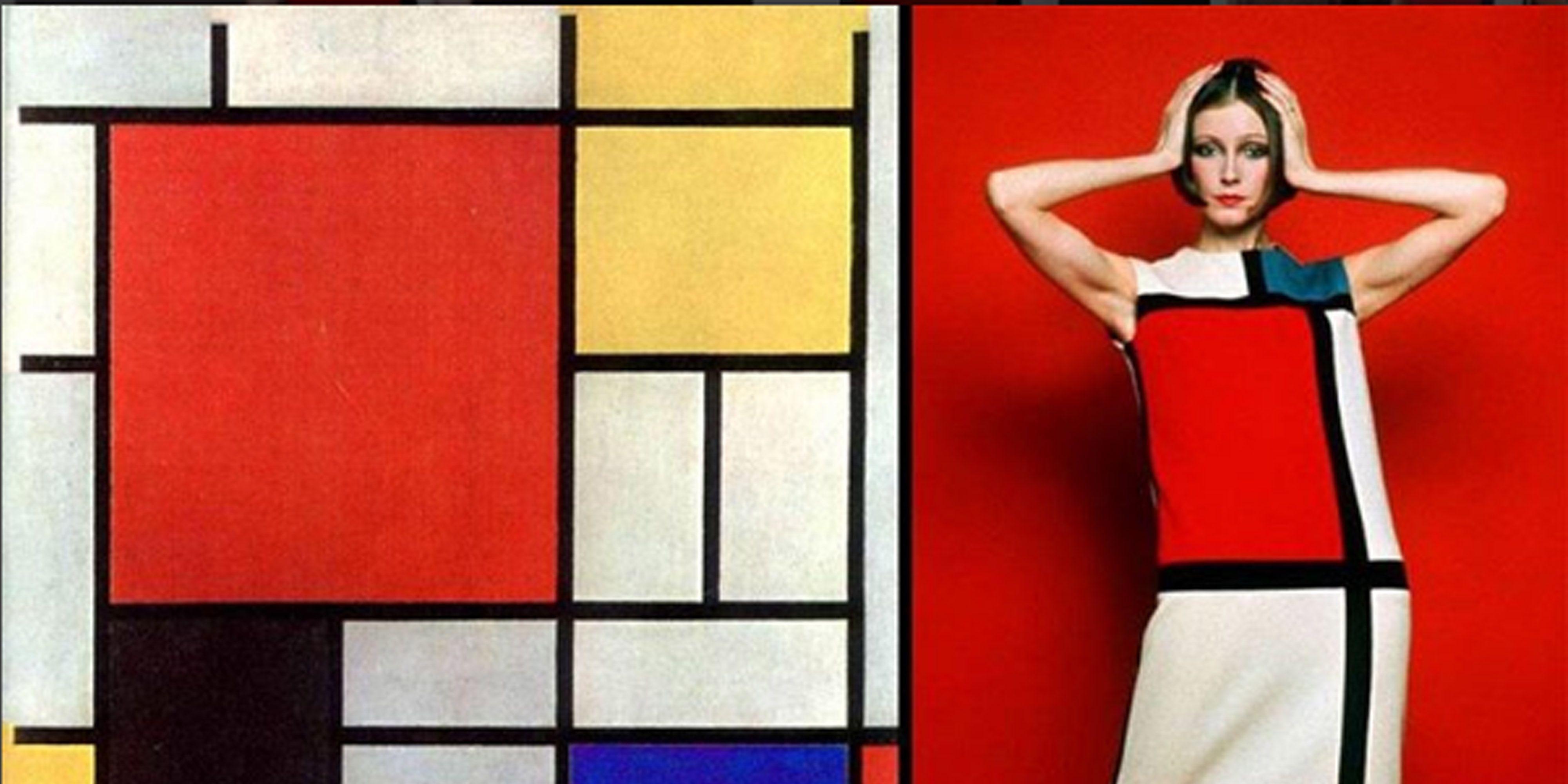 1b14d85651330a Cultuurtip  mode geïnspireerd op Piet Mondriaan en de Stijl