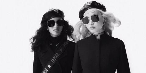 Eyewear, Sunglasses, White, Black, Cool, Glasses, Black-and-white, Vision care, Fashion, Photography,