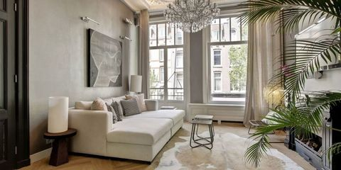 Room, Interior design, Living room, White, Furniture, Property, Floor, Ceiling, Building, Wall,