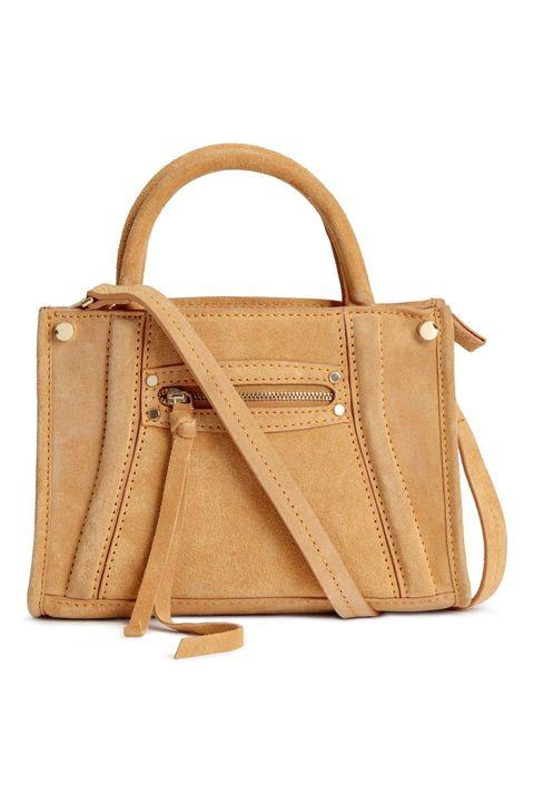 Handbag, Bag, Leather, Tan, Fashion accessory, Brown, Beige, Shoulder bag, Kelly bag, Tote bag,