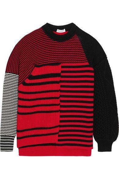 Clothing, Sweater, Red, Sleeve, Outerwear, Wool, Woolen, Jersey, T-shirt, Long-sleeved t-shirt,