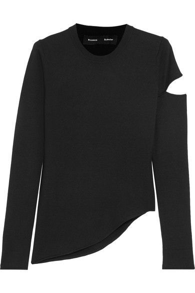 Clothing, Long-sleeved t-shirt, Sleeve, Black, T-shirt, Outerwear, Sweater, Top, Jersey, Neck,