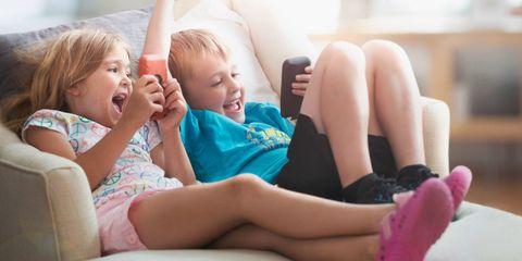 Child, Toddler, Skin, Leg, Fun, Sitting, Blond, Thigh, Finger, Smile,