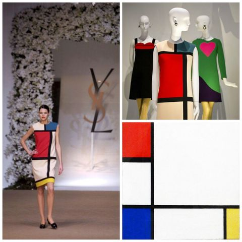 Yves Saint Laurent x Mondrian