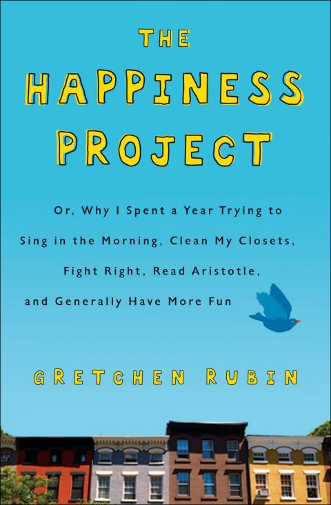 <p><strong>正在閱讀的書</strong></p>  <p>Gretchen Rubin的《The Happiness Project》。</p>