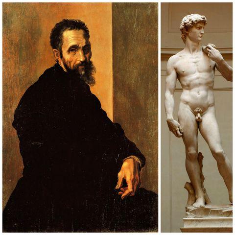 「我看見天使隱身大理石中,於是不停地雕刻,直到使他自由」-Michelangelo
