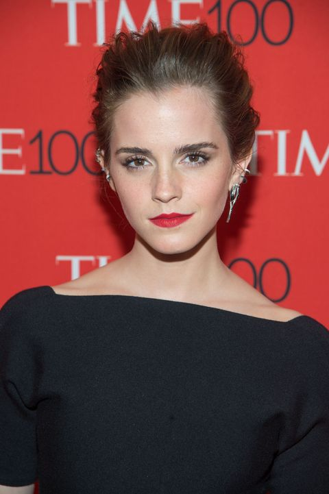 <p>Emma Watson擁有一對令人稱羨的自然眉型。</p>