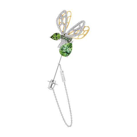 <p>蜜蜂造型珠寶胸針。</p>