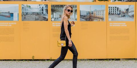 Eyewear, Vision care, Glasses, Yellow, Sunglasses, Trousers, Goggles, Outerwear, T-shirt, Style,