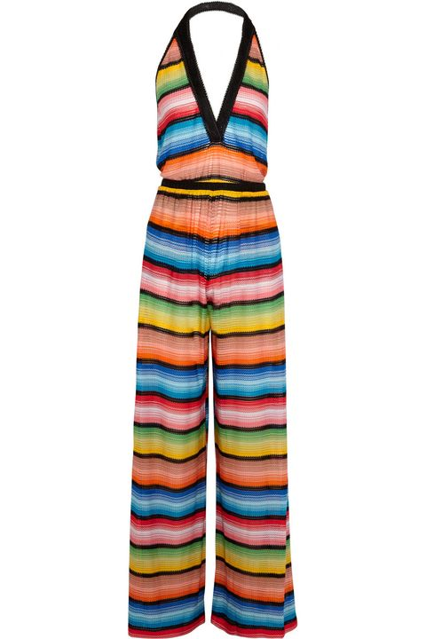 <p>多彩針織連身褲,約NT29,540,Missoni at Net-A-Porter。</p>