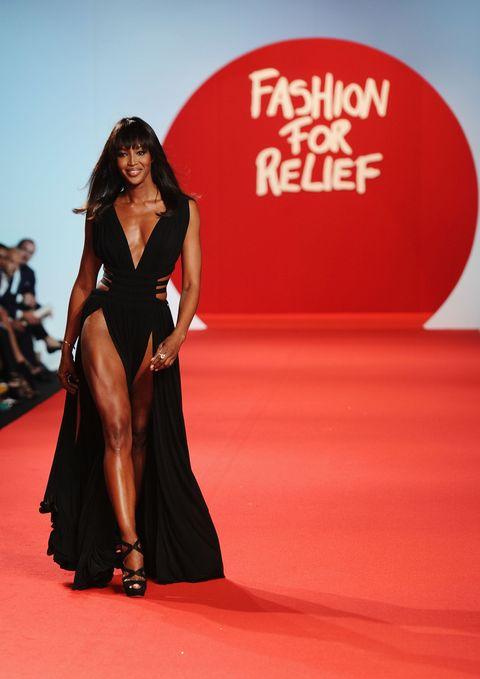 <p>由超模Naomi Campbell一手創辦的「Fashion For Relief」慈善時裝秀,致力於推廣致命性疾病的相關教育以及先前的預防工作。</p>