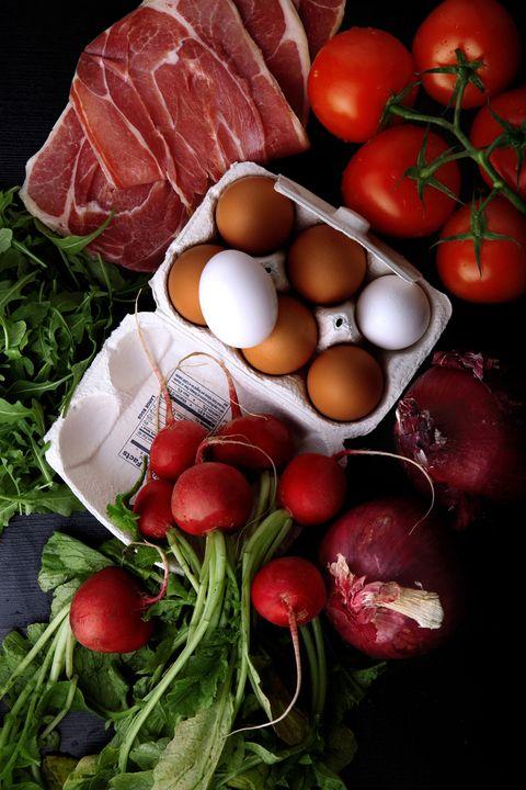 Food, Ingredient, Natural foods, Produce, Vegan nutrition, Whole food, Local food, Food group, Still life photography, Leaf vegetable,