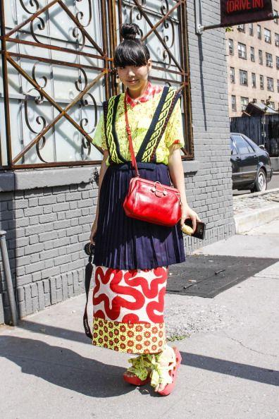 Bag, Street fashion, Fashion, Luggage and bags, Tradition, Costume, Family car, Pattern, Full-size car, Handbag,