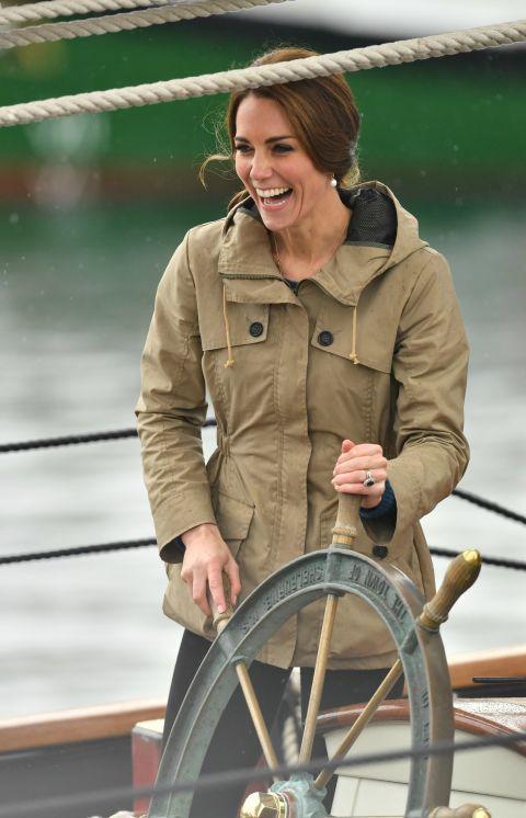 凱特於維多利亞港