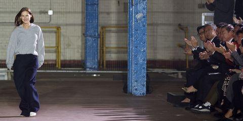 Blue, Floor, Standing, Flooring, Denim, Street fashion, Majorelle blue, Electric blue, Waist, Column,