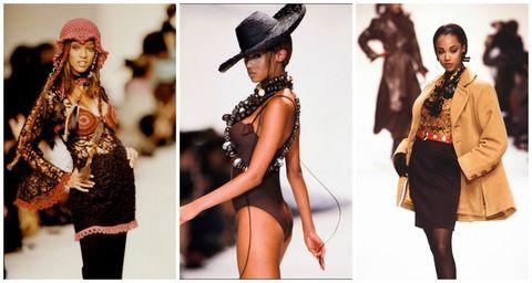 "<p>當時的媒體眼看著Tyra的崛起,便向Naomi Campbell如此喊話:「Tyra Banks來了!所以Naomi,好好坐下吧。」,只因當時時尚圈有著這樣一條潛規則:「10位超級模特兒裡,只能有一位黑人模特兒。」而Naomi Campbell就是當時的那一位。這場黑珍珠之戰成為Tyra時尚模特兒之路遭受到偌大的挫折,使她日後逐漸轉往電視圈發展。  <span class=""redactor-invisible-space"" data-verified=""redactor"" data-redactor-tag=""span"" data-redactor-class=""redactor-invisible-space""></span></p>"