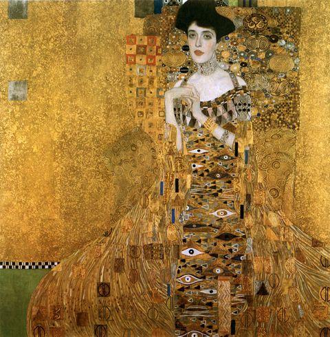 """<p>        《Portrait of Adele Bloch-Bauer I艾蒂兒肖像一號》,Gustav Klimt。  <span class=""""redactor-invisible-space""""></span></p>"""