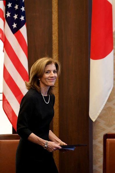 <p><span>為哈佛和哥倫比亞大學畢業資優生的她,現任美國駐日大使,除了有著遺傳自甘迺迪的政治魅力,也擁有如賈姬般的得體氣質及優雅品味。</span></p>