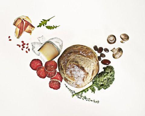 Food, Dish, Cuisine, Food group, Garnish, Ingredient, Illustration, Meal, Produce, Breakfast,