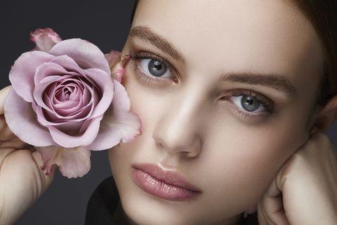 Face, Hair, Skin, Lip, Cheek, Beauty, Pink, Eyebrow, Head, Nose,