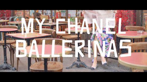 Chanel春夏芭蕾舞鞋系列廣告
