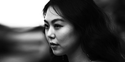 Face, Hair, Black, White, Photograph, Black-and-white, Monochrome, Nose, Lip, Monochrome photography,