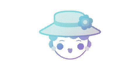 Turquoise, Design, Line, Headgear, Pattern, Line art, Graphics, Illustration, Smile, Logo,