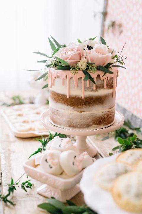 <p>其實這跟台灣的彌月蛋糕類似,有些人喜歡準備多個杯子蛋糕組成蛋糕塔;而有些人喜歡一整個大型翻糖蛋糕。<br></p>