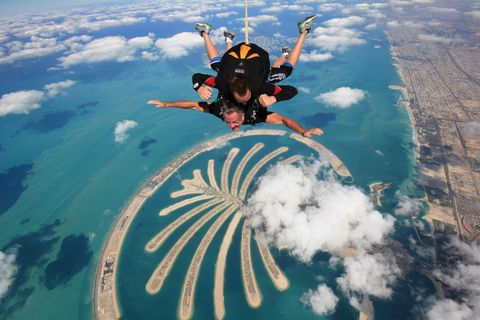 "<p><strong data-redactor-tag=""strong"" data-verified=""redactor""></strong><strong data-redactor-tag=""strong"" data-verified=""redactor"">Skydive Dubai杜拜高空跳傘公司</strong></p><p>雙人跳傘最低費用:1999AED</p><p>最低高度:12500英呎</p><p>推薦季節:12-3月</p><p>預約網址:<a href=""https://bookings.skydivedubai.ae/Slot/GetSlotsForDate"">https://goo.gl/GZ48jZ</a></p>"