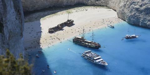 Vehicle, Sea, Boat, Watercraft, Ship, Shipwreck, Coast, Coastal and oceanic landforms, Inlet, Bay,