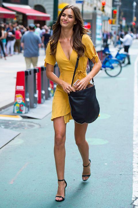 Victoria's Secret street style