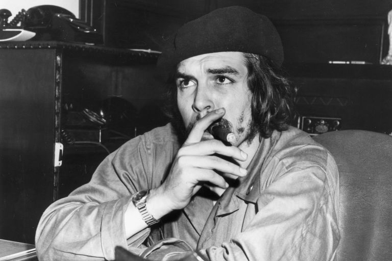 "<p>          巴西革命英雄切格瓦拉戴(Ernesto 'Che' Guevara<span class=""redactor-invisible-space"" data-verified=""redactor"" data-redactor-tag=""span"" data-redactor-class=""redactor-invisible-space""></span>)著這款毛料貝雷帽的模樣成為他的經典形象之一。<span class=""redactor-invisible-space"" data-verified=""redactor"" data-redactor-tag=""span"" data-redactor-class=""redactor-invisible-space""></span></p>"