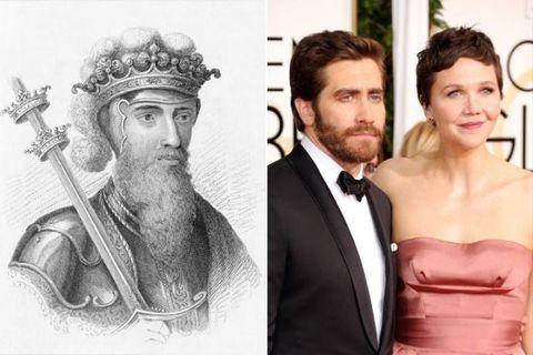 知名演員JakeGyllenhall和姊姊Maggie Gyllenhall的父系家族同樣源自愛德華三世,這位國王曾於1327至1377年間統治英國。