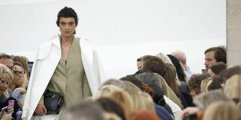 Fashion, Fur, Crowd, Event, Human, Textile, Fashion design, Audience, Fur clothing,