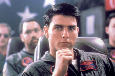 No Merchandising. Editorial Use Only. No Book Cover Usage. Mandatory Credit: Photo by Moviestore/REX/Shutterstock (1637888a) Top Gun,  Tom Cruise Film and Television