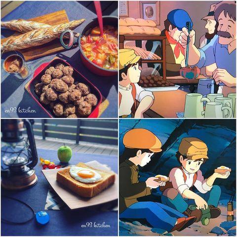 Meal, Junk food, Food, Dish, Cuisine, Cartoon, Comfort food, Illustration, Breakfast, Brunch,
