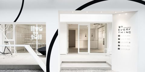 Interior design, Black-and-white, Room, Ceiling, Building, Architecture, Door, Stairs, Design, Material property,