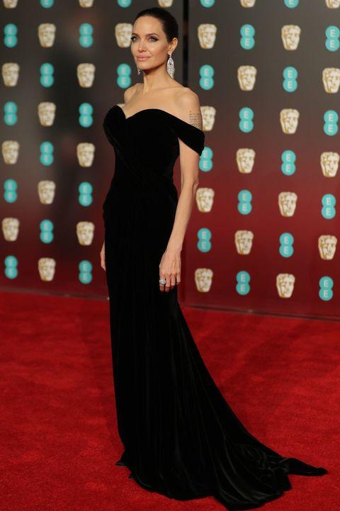 British Academy of Film and Television Arts,英國奧斯卡,英國演藝學院電影獎,BAFTAS,Angelina Jolie,Ralph & Russo,Graff,安潔莉那裘莉,