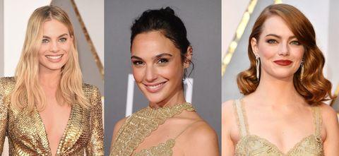 奧斯卡,奧斯卡頒獎典禮,Oscar,最佳女主角,Emma Stone,艾瑪史東,Gal Gadot,蓋兒加朵,Margot Robbie,瑪格羅比